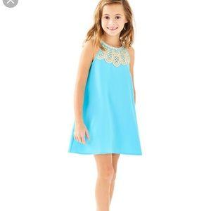 Lilly Pulitzer Mini Pearl blue dress. 6